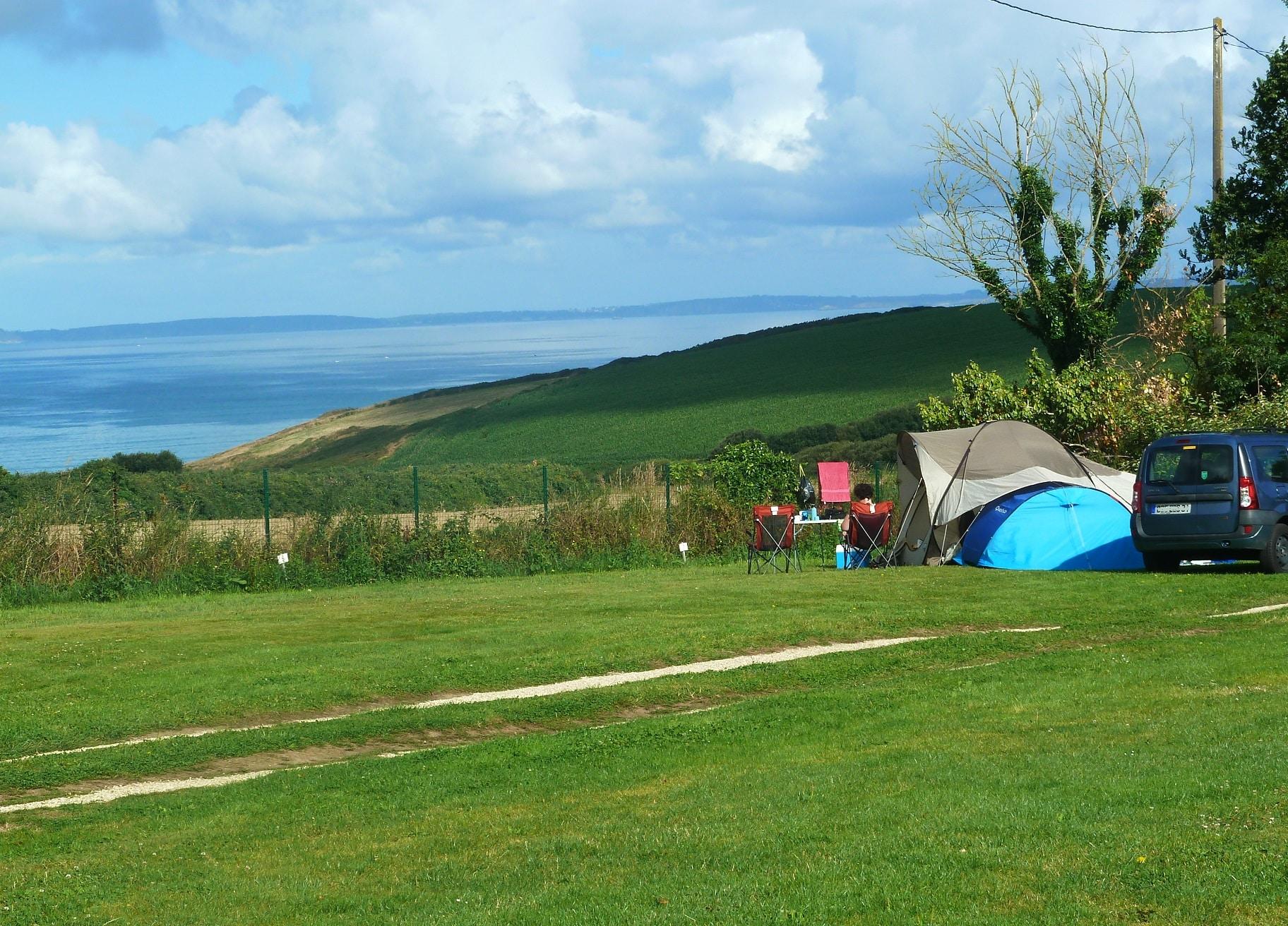 Camping d'Ys en baie de douarnenez